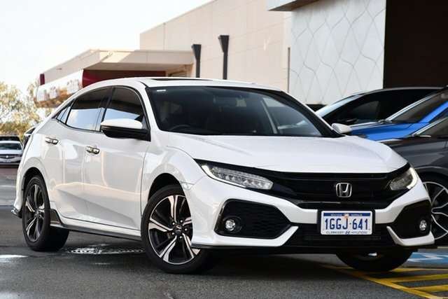 Used Honda Civic 10th Gen MY17 RS Clarkson, 2017 Honda Civic 10th Gen MY17 RS White 1 Speed Constant Variable Hatchback