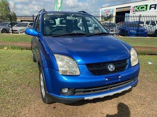 2005 Holden Cruze YG 2 Blue 4 Speed Automatic Wagon.