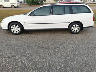 1999 Holden Commodore VT Executive White 4 Speed Automatic Wagon
