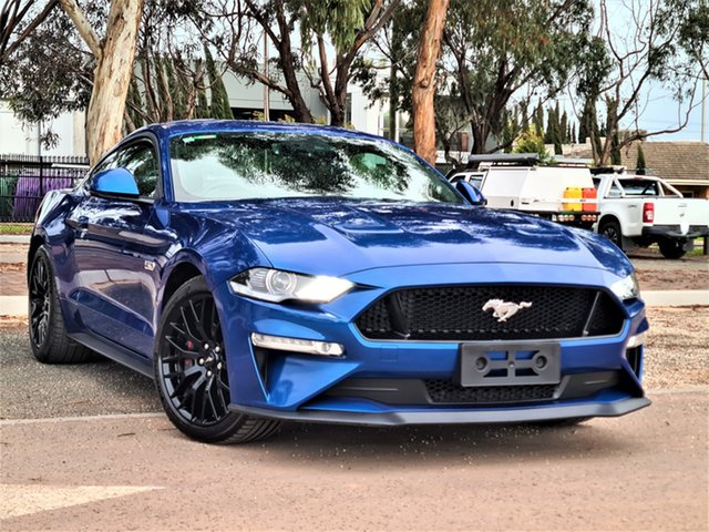 Used Ford Mustang FN 2018MY GT Fastback SelectShift St Marys, 2018 Ford Mustang FN 2018MY GT Fastback SelectShift Blue 10 Speed Sports Automatic Fastback