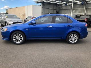2014 Mitsubishi Lancer CJ MY15 LS Blue 6 Speed Constant Variable Sedan