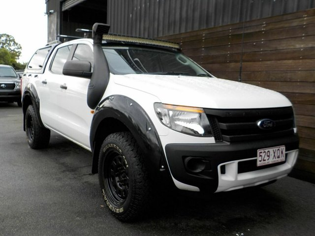 Used Ford Ranger PX XL Labrador, 2014 Ford Ranger PX XL White 6 Speed Sports Automatic Utility