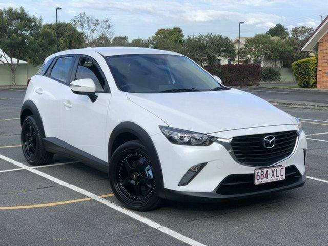 Used Mazda CX-3 DK2W76 Maxx SKYACTIV-MT Chermside, 2017 Mazda CX-3 DK2W76 Maxx SKYACTIV-MT White 6 Speed Manual Wagon
