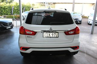 2019 Mitsubishi ASX XC MY19 Black Edition 2WD White 1 Speed Constant Variable Wagon
