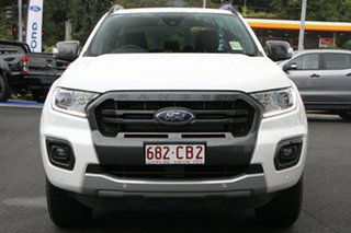2021 Ford Ranger PX MkIII MY21.25 Wildtrak 3.2 (4x4) Alabaster White 6 Speed Automatic Utility.