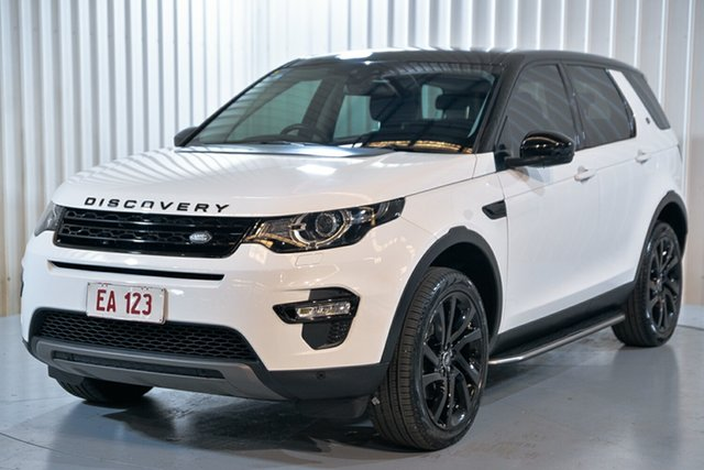 Used Land Rover Discovery Sport L550 17MY HSE Hendra, 2016 Land Rover Discovery Sport L550 17MY HSE White 9 Speed Sports Automatic Wagon