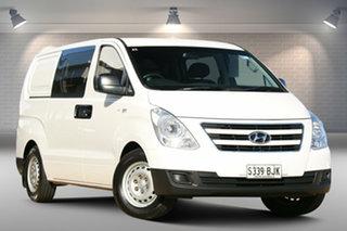 2015 Hyundai iLOAD TQ3-V Series II MY16 Crew Cab White 5 Speed Automatic Van.