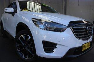 2017 Mazda CX-5 KE1032 Akera SKYACTIV-Drive i-ACTIV AWD White 6 Speed Sports Automatic Wagon.