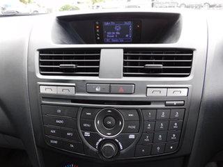 2017 Mazda BT-50 UR0YG1 XT Freestyle 4x2 Hi-Rider Silver 6 Speed Sports Automatic Cab Chassis