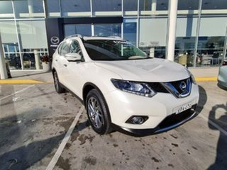 2016 Nissan X-Trail T32 Ti X-tronic 4WD White 7 Speed Constant Variable Wagon.