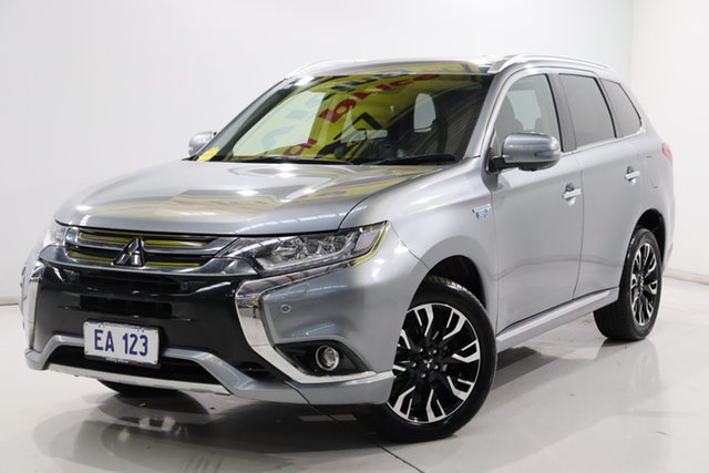 Used Mitsubishi Outlander ZK MY18 Exceed PHEV Brooklyn, 2017 Mitsubishi Outlander ZK MY18 Exceed PHEV Grey 1 Speed Automatic Wagon