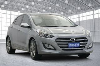 2015 Hyundai i30 GD3 Series II MY16 SR Silver 6 Speed Sports Automatic Hatchback.
