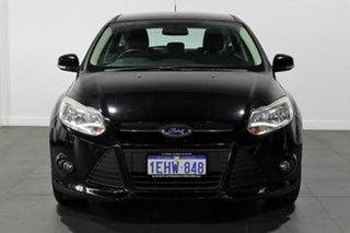 2013 Ford Focus LW MkII Trend Black 5 Speed Manual Hatchback.