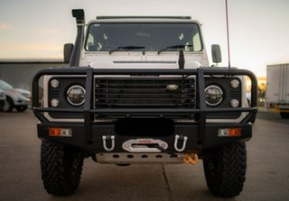 1999 Land Rover Defender 110 White 5 Speed Manual Wagon