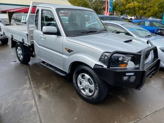 2018 Mahindra Pik-Up S6 MY18 4WD Silver 6 Speed Manual Cab Chassis.