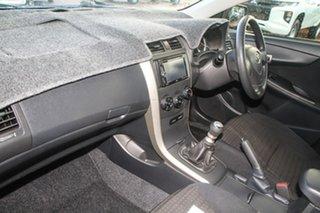 2010 Toyota Corolla ZRE152R Ascent Silver 6 Speed Manual Sedan