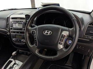 2009 Hyundai Santa Fe CM MY09 Elite White 5 Speed Sports Automatic Wagon