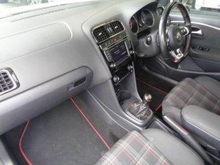 2015 Volkswagen Polo 6R MY16 GTi White 6 Speed Manual Hatchback