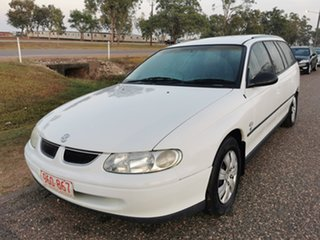 1999 Holden Commodore VT Executive White 4 Speed Automatic Wagon.