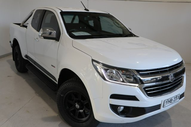 Used Holden Colorado RG MY18 LTZ Pickup Space Cab Wagga Wagga, 2017 Holden Colorado RG MY18 LTZ Pickup Space Cab White 6 Speed Sports Automatic Utility