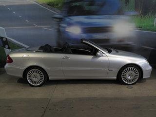 2009 Mercedes-Benz CLK-Class A209 MY08 CLK200 Kompressor Avantgarde Silver 5 Speed Automatic.
