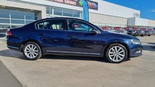 2010 Volkswagen Passat Type 3C MY10.5 125TDI DSG Highline Blue 6 Speed Sports Automatic Dual Clutch