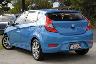 2017 Hyundai Accent RB6 MY18 Sport Blue 6 Speed Sports Automatic Hatchback