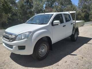 2016 Isuzu D-MAX MY15.5 SX Crew Cab 4x2 High Ride White 5 Speed Sports Automatic Cab Chassis.
