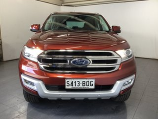 2017 Ford Everest UA Trend Red 6 Speed Sports Automatic SUV