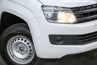 2015 Volkswagen Amarok 2H MY15 TDI340 4x2 White 6 Speed Manual Utility.