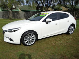 2016 Mazda 3 BM5436 SP25 SKYACTIV-MT GT White 6 Speed Manual Hatchback.