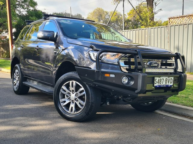 Used Ford Everest UA 2018.00MY Trend Hyde Park, 2018 Ford Everest UA 2018.00MY Trend Meteor Grey 6 Speed Sports Automatic SUV
