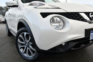 2016 Nissan Juke F15 Series 2 ST X-tronic 2WD White 1 Speed Constant Variable Hatchback.
