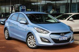 2013 Hyundai i30 GD Active Blue 6 Speed Manual Hatchback.