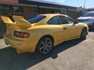 1997 Toyota Celica ST204R ZR Yellow 5 Speed Manual Liftback.
