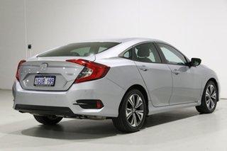 2019 Honda Civic MY19 VTi-L Silver Continuous Variable Sedan