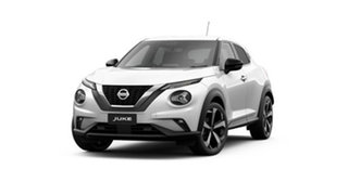 2021 Nissan Juke F16 ST-L DCT 2WD Arctic White 7 Speed Sports Automatic Dual Clutch Hatchback.