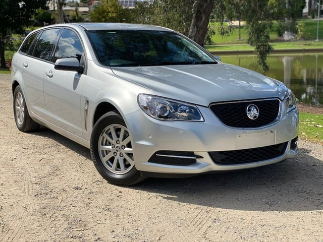 Used Holden Commodore VF II MY17 Evoke Sportwagon Wodonga, 2017 Holden Commodore VF II MY17 Evoke Sportwagon Silver 6 Speed Sports Automatic Wagon