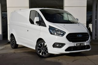 2020 Ford Transit Custom 320S (Low Roof) Sport White 6 Speed Automatic Van.