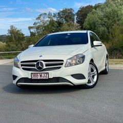 2013 Mercedes-Benz A-Class W176 A180 D-CT White 7 Speed Sports Automatic Dual Clutch Hatchback.