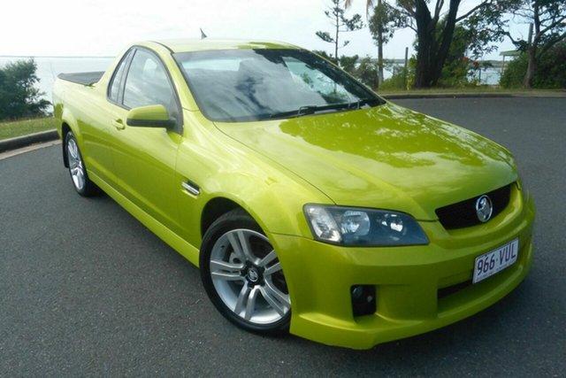 Used Holden Ute VE SV6 Gladstone, 2007 Holden Ute VE SV6 Green 6 Speed Manual Utility