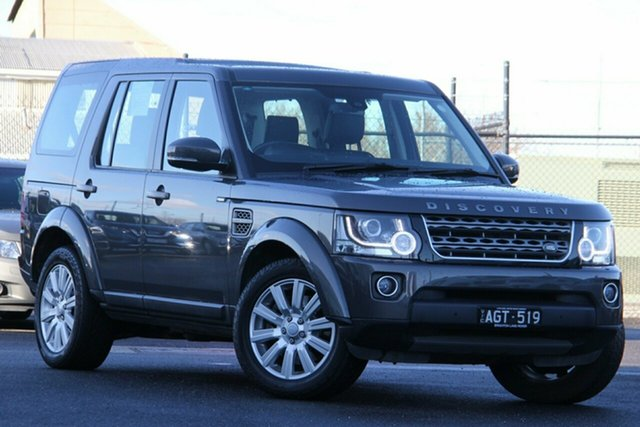 Used Land Rover Discovery Series 4 L319 MY16 TDV6 Essendon North, 2015 Land Rover Discovery Series 4 L319 MY16 TDV6 Grey 8 Speed Sports Automatic Wagon