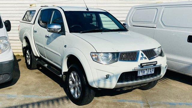 Used Mitsubishi Triton MN MY14 GLX-R Double Cab Maidstone, 2013 Mitsubishi Triton MN MY14 GLX-R Double Cab White 5 Speed Sports Automatic Utility