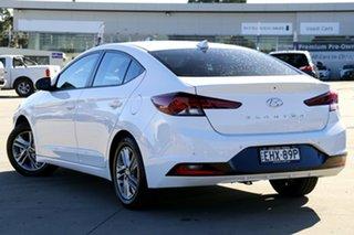 2019 Hyundai Elantra AD.2 MY20 Active White 6 Speed Sports Automatic Sedan.