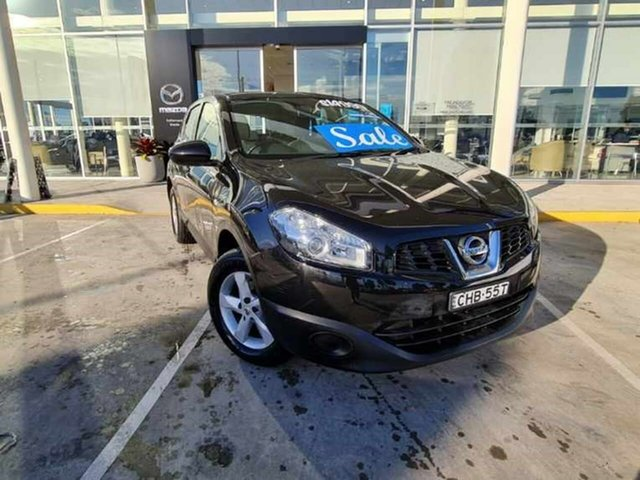 Used Nissan Dualis J10 Series II MY2010 ST Hatch X-tronic Kirrawee, 2012 Nissan Dualis J10 Series II MY2010 ST Hatch X-tronic Black 6 Speed Constant Variable Hatchback