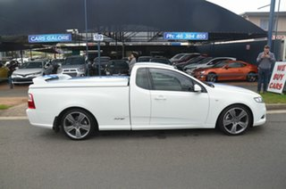 2010 Ford Falcon FG Upgrade XR6T 50th Anniversary White 6 Speed Manual Utility.