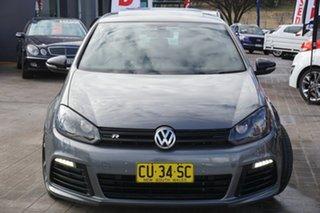 2011 Volkswagen Golf VI MY11 R DSG 4MOTION Grey 6 Speed Sports Automatic Dual Clutch Hatchback.