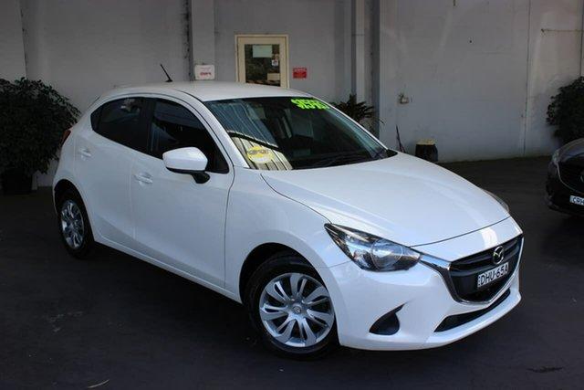 Used Mazda 2 DJ2HAA Neo SKYACTIV-Drive Waitara, 2016 Mazda 2 DJ2HAA Neo SKYACTIV-Drive White 6 Speed Sports Automatic Hatchback