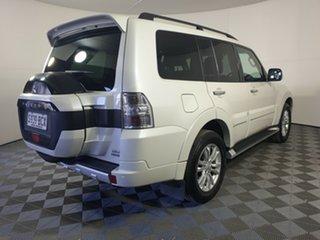 2014 Mitsubishi Pajero NX MY15 Exceed Warm White 5 Speed Sports Automatic Wagon