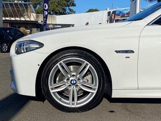2016 BMW 520d F10 MY17 M Sport Alpine White 8 Speed Automatic Sedan.